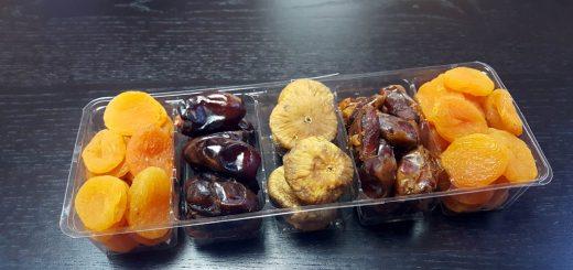 Caserola 5 compartimente (model 4071) pentru fructe confiate