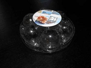 Cofraje oua de gaina 7 compartimente.