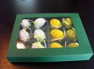 Chese plastic transparent pentru 6 oua incondeiate etc.