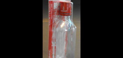 Blistere plastic pentru oferta promotionala sticla de vodca