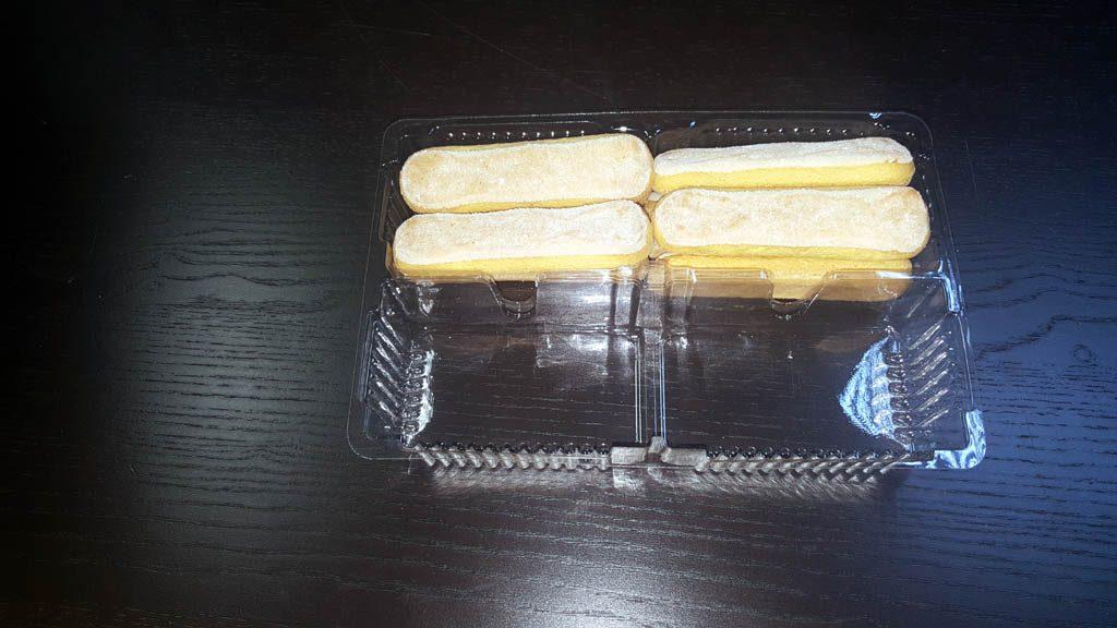 Caserola cu 2 compartimente pentru piscoturi - 1