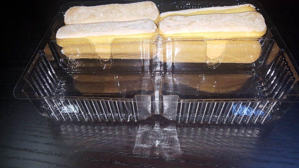 Caserola cu 2 compartimente pentru piscoturi - 2