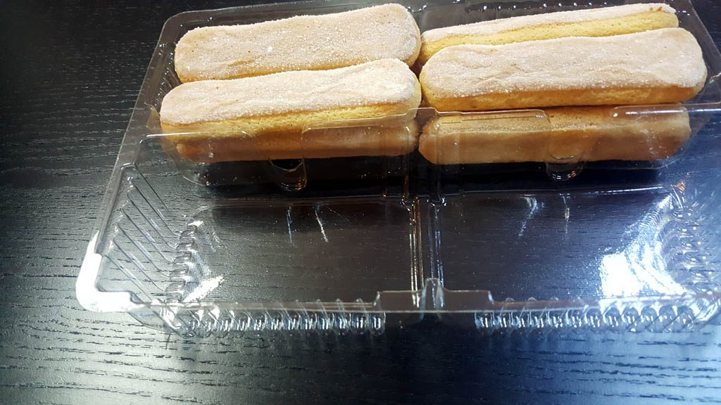 Caserola cu 2 compartimente pentru piscoturi - 3