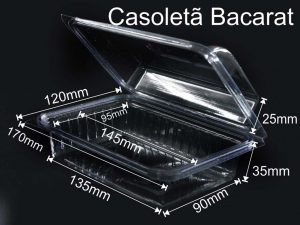 Caserole din plastic (model Bacarat – 4097)