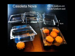 Caserole din plastic (model NOVA – 4196)