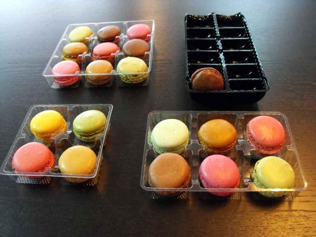 Chese Macarons, Chese plastic minimacarons