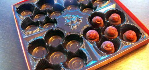 Chese din plastic pentru bomboane din ciocolata