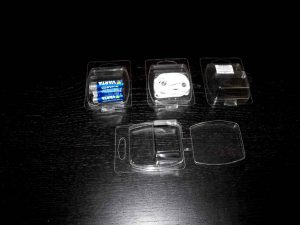 Blistere plastic accesorii electrice, baterii, cabluri usb, accesorii mici etc.