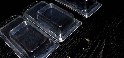 Blistere plastic accesorii electrice, feronerie, obiecte mici etc.