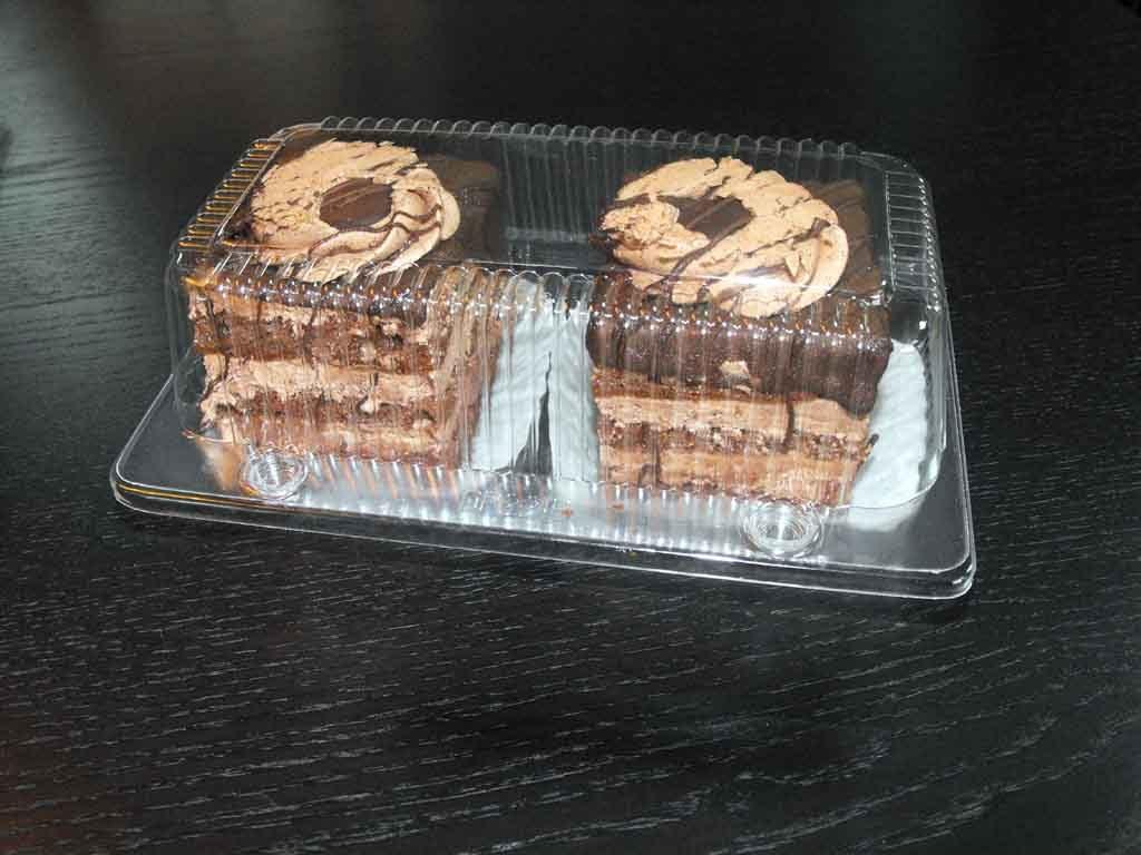 caserola compartimentata 2 amandine, caserole prajituri