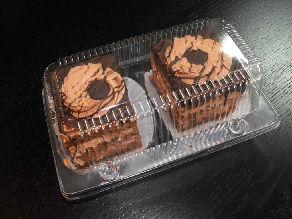 caserola compartimentata 2 amandine, prajituri inalte