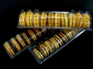 Caserole plastic biscuiti rotunzi (model 4106)