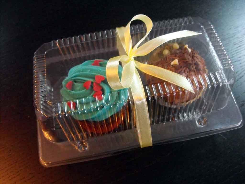 caserola doua compartimente cu 2 cupcakes 2