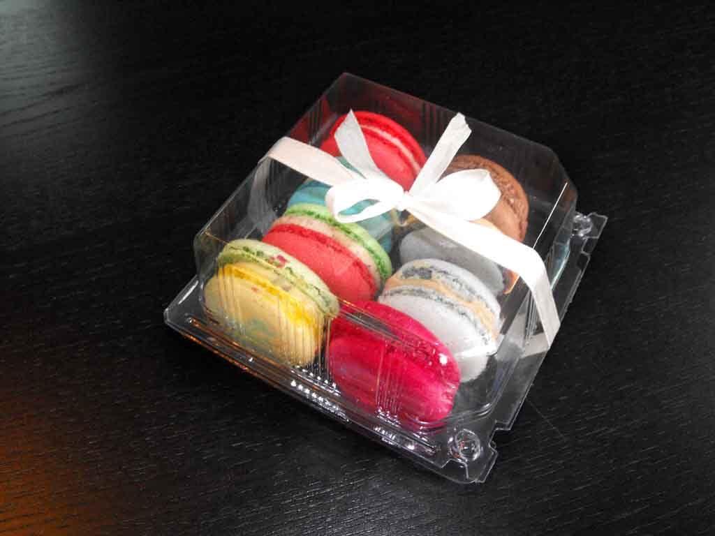 caserola plastic macarons, caserola plastic