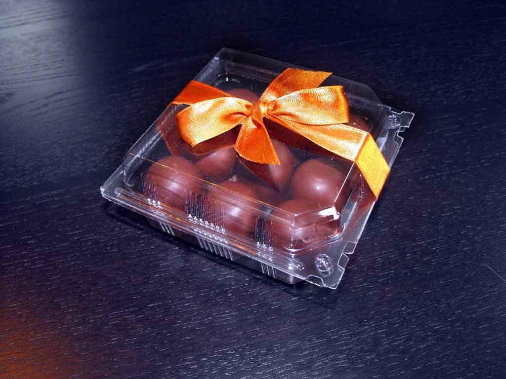 caserola plastic pentru marshmallow, caserola personalizata