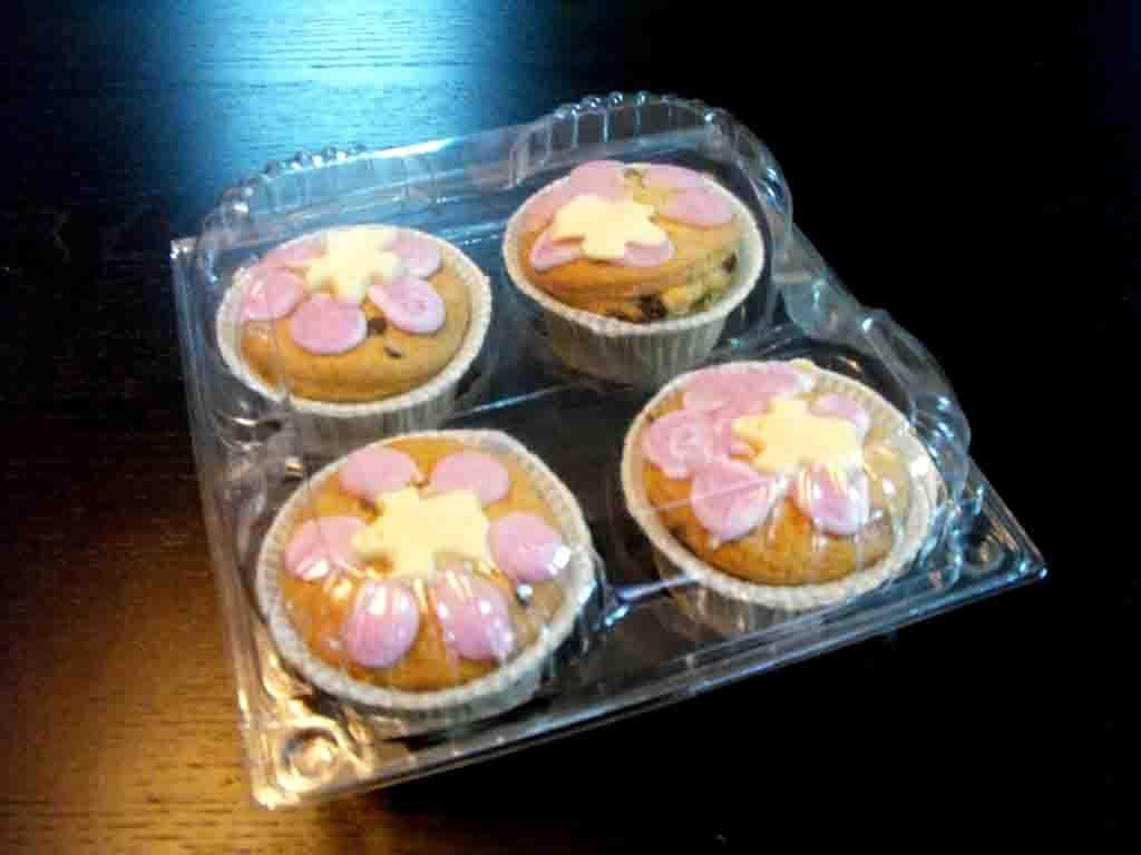 caserole 4 briose, caserole plastic 4 muffins, caserole 4 gogosi, caserole 4 savarine