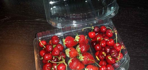 Caserole compartimentate pentru fructe