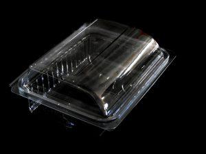 Caserole plastic pentru fructe