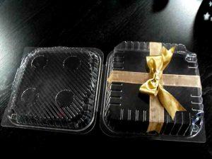 Caserole plastic pentru prajituri etc.