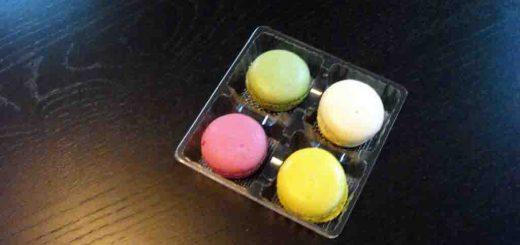 Chese plastic transparent pentru 4 Macarons, Minimacarons etc.