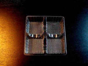 Chese din plastic pentru 4 cosulete folosite la tarte etc.