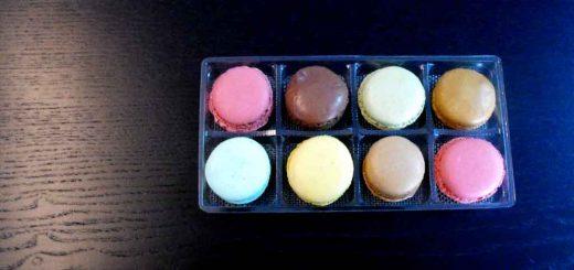 Chese din plastic pentru 8 Macarons, Minimacarons etc.