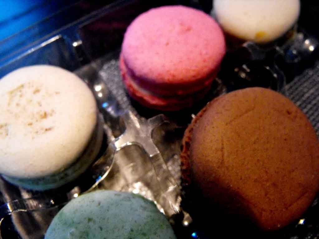 chese 9 compartimente, chese 9 macarons