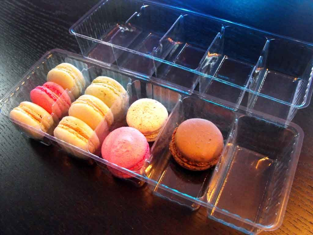 chese macarons,ambalaje compartimentate macarons,chese