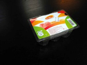 Cofraje oua de gaina 6 compartimente.