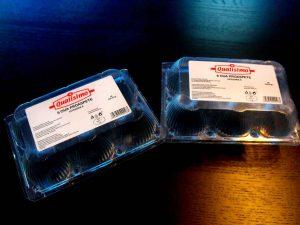 Cofraje plastic oua de gaina 12 compartimente.
