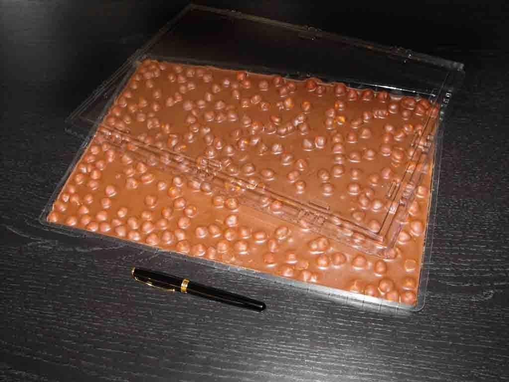 forma de turnat ciocolata