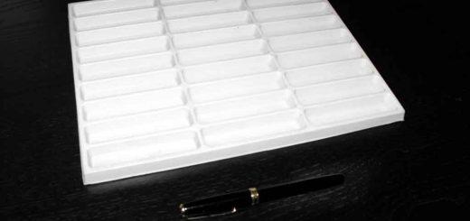 Forme pentru turnat batoane ciocolata.
