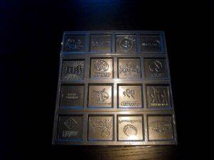 Forme turnat ciocolata personalizate  (model 4170).