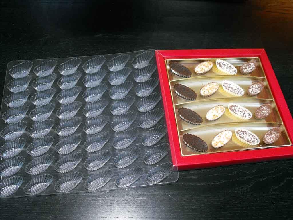 forme plastic pentru ciocolata