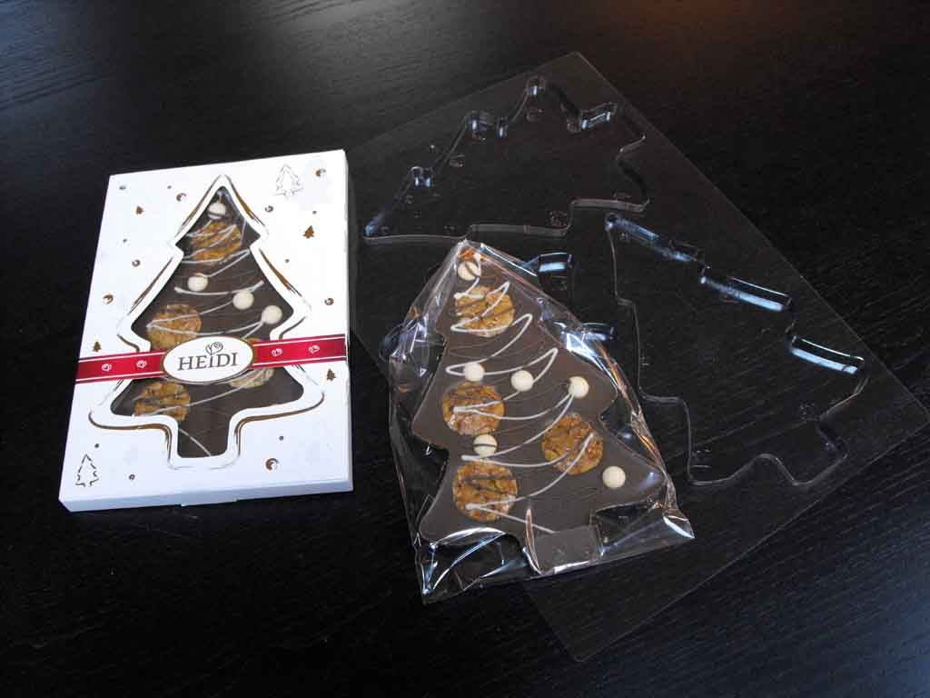 forme turnat ciocolata model bradut