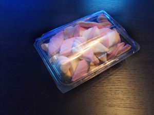 Caserole figurine marshmallow (model Bacarat).
