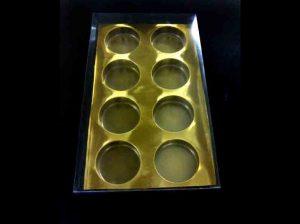 Chese plastic (model 4201) pentru prajituri, briose, muffins etc.