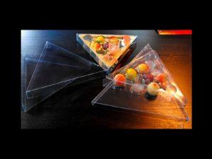 Chese plastic figurine martipan forma triunghi